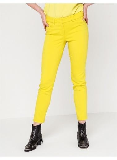 Love'n Fashion Paris Pantolon Sarı